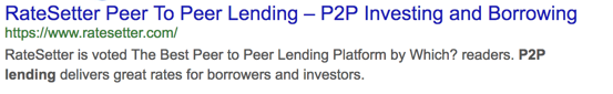 Search result 'p2p lender'