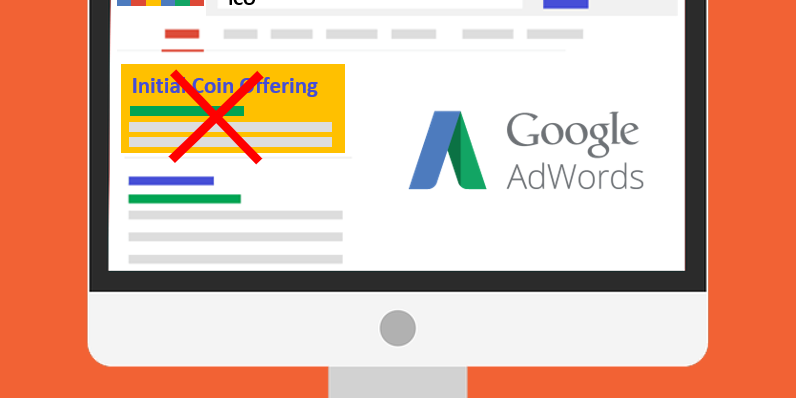Google says no to ICO ads from June 2018