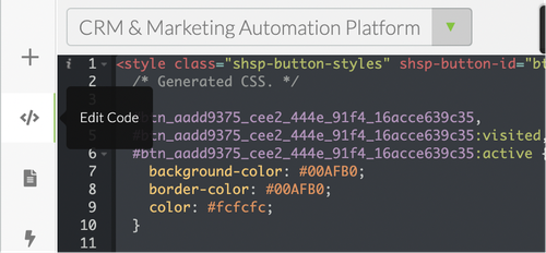 Edit code in SHarpSpring landing pages to add Google Font.png